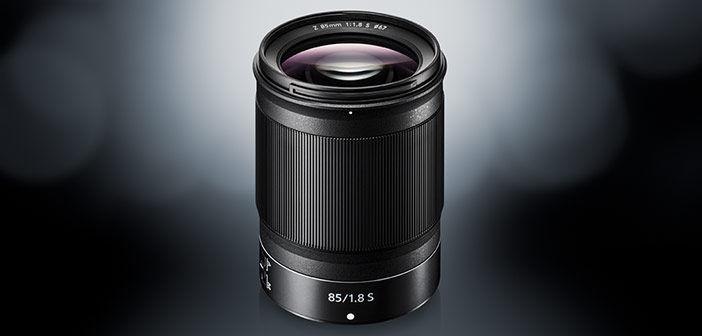 NIKKOR 85mm f1.8 S lens