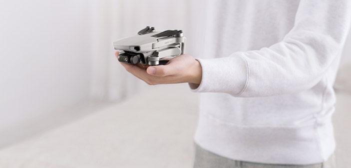 DJI Mavic Mini Drone in Hand