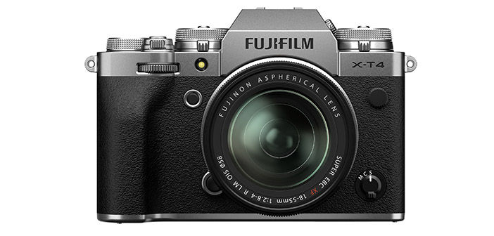 Fujifilm X-T4 Camera with Lens