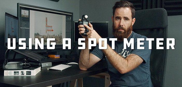 Using a spot meter