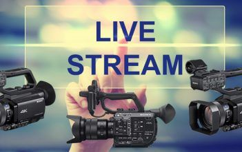 Sony NX80 Z90 FS5 II In-Camera Streaming Capabilities