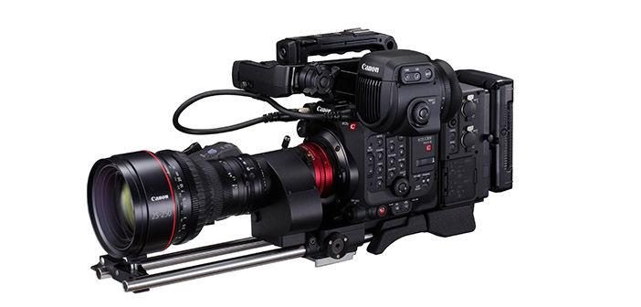 Canon C300 Mark III Cinema Camera with Cine-Servo 25-250mm Lens