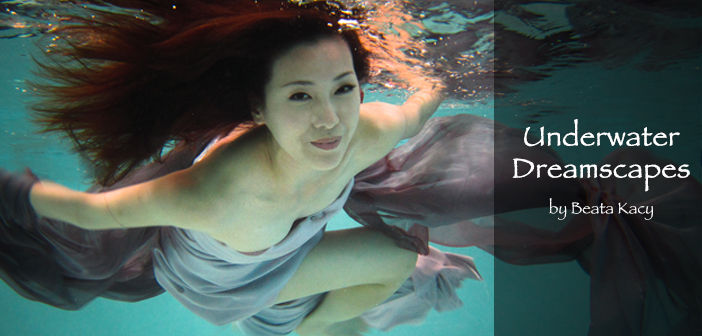 Underwater with Beata Kacy Cover