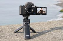 Sony ZV-1 with optional Vloggers Kit