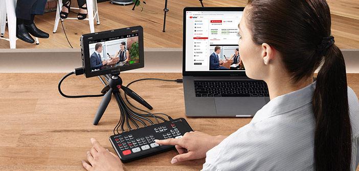 Blackmagic Design Firmware Updates for ATEM Mini and Video Assist 12G