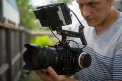 Dan Ludeman with the Z-CAM E2-S6 and Ninja V