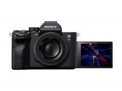 Sony a7SIII with tilting LCD screen