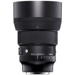 Sigma 85mm 1.4 ART Lens