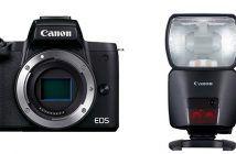 Canon EOS M50 Mark II and EL-1 Speedlight
