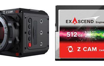 Exascend Z CAM Memory Cards