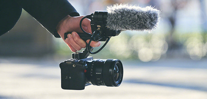 Sony FX3 With Handle Attached