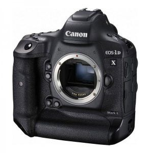 Canon 1D X Mark II Front Side View