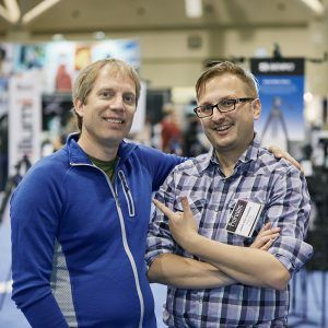 ProFusion Expo 2015 - Michael Clark and Justin Van Leeuwen