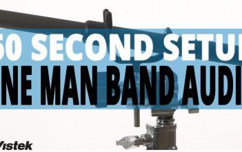 One Man Band Audio Set-up