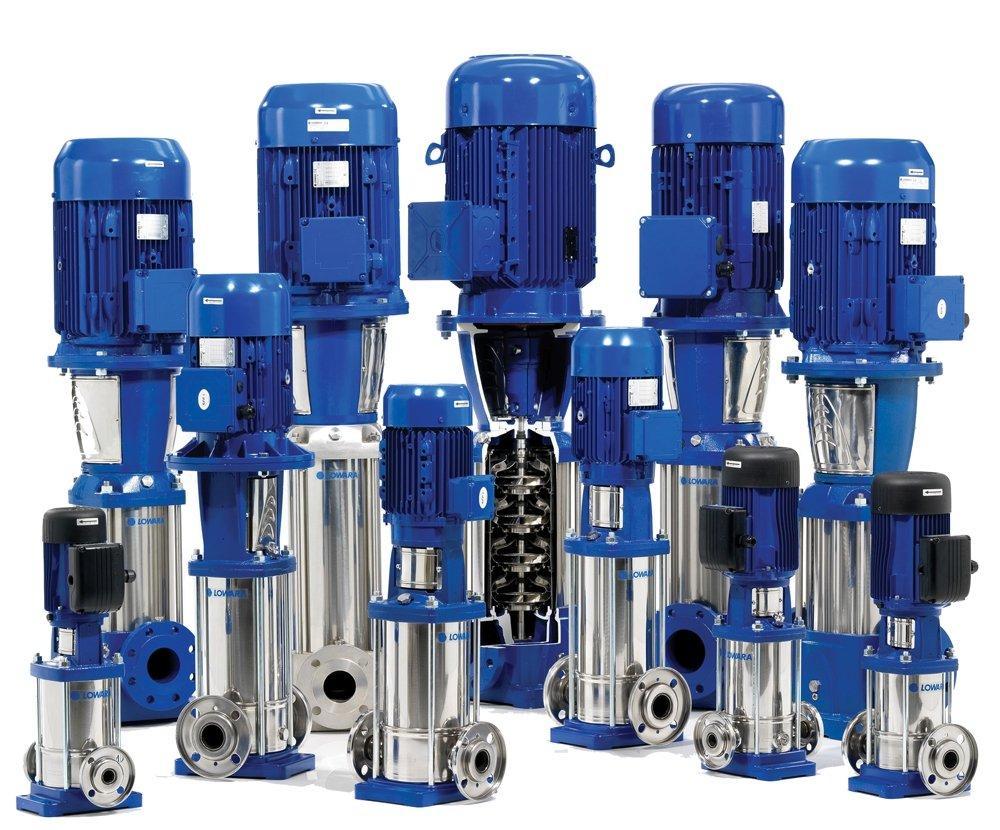 Lowara 5SV Vertical Multistage Pumps