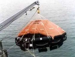 Davit launched Life Raft