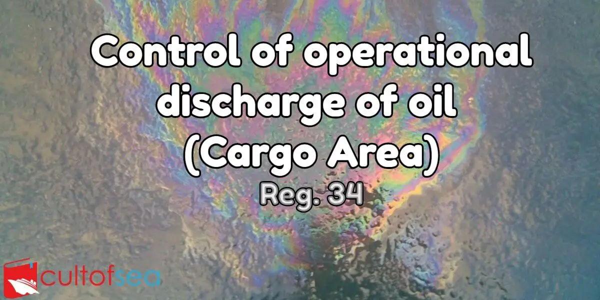 Discharge oil reg 34
