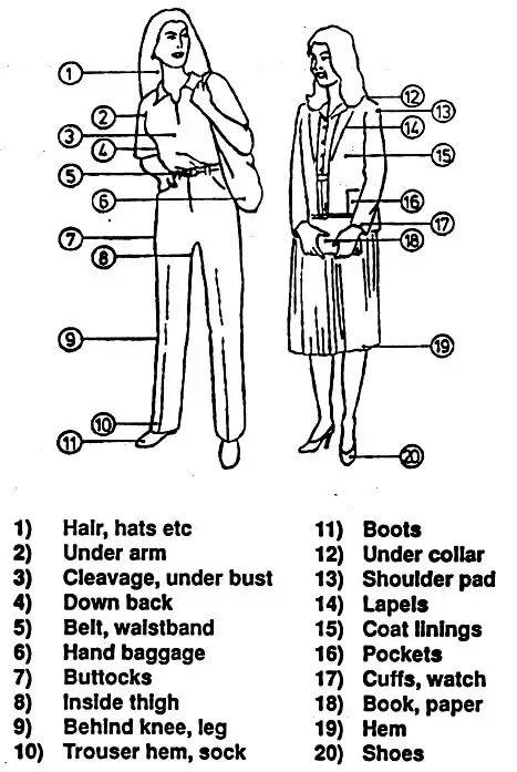 Body Search - Female