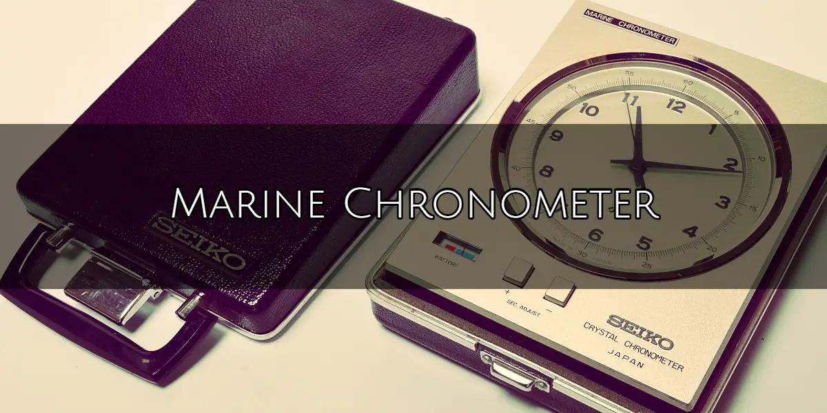 The Marine Chronometer featured image