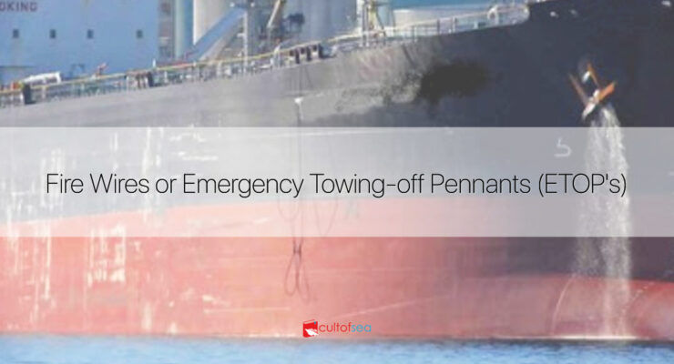 Fire Wires or Emergency Towing-off Pennants