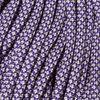 Paracord: Acid Purple with Cream Diamonds