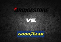 Bridgestone vs. Goodyear tyres