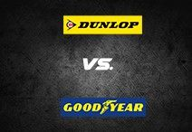 Dunlop vs. Goodyear tyres