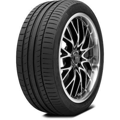 CONTINENTAL CONTISPORTCONTACT 5 SSR RUNFLAT FR * 255/35R19 92Y