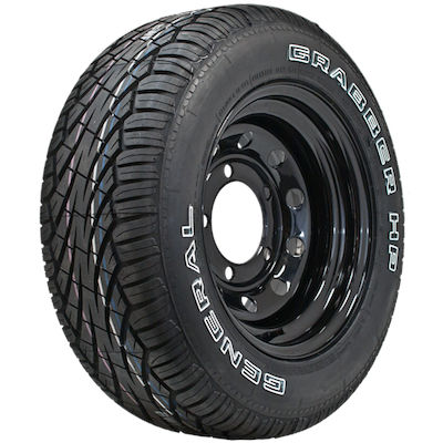 GENERAL TIRE GRABBER HP M+S FR OWL 255/60R15 102H