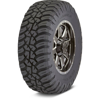 GENERAL TIRE GRABBER X3 10 PLY RATING 275/65R18 123/120Q