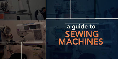 A guide to sewing machines