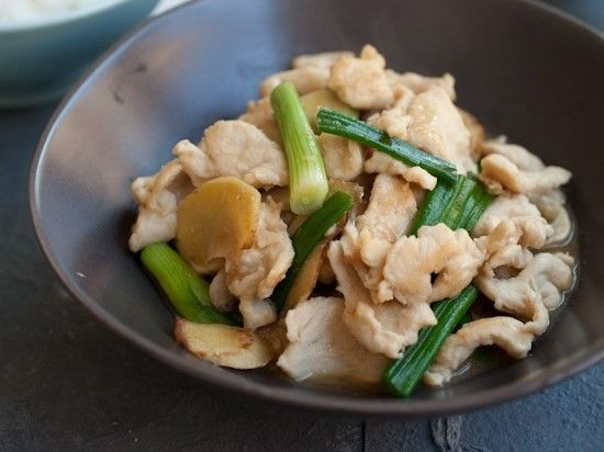 Ginger Spring Onion Chicken Breast