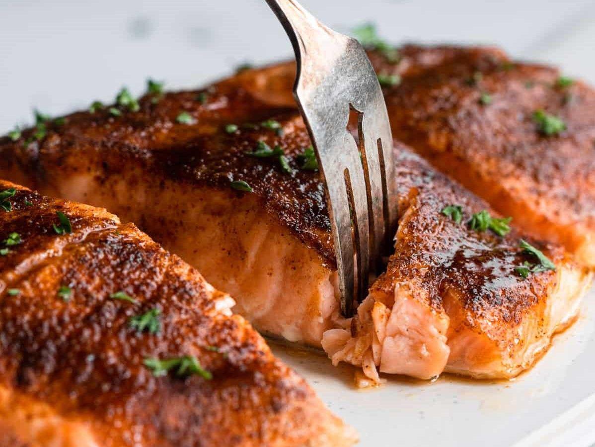 Baked Cajun Salmon