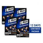12 Days Gain Mass Package: L-Men Gain Mass Chocolate 500gr