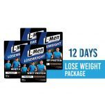 12 Days Lose Weight Package: L-Men Lose Weight Chocolate Cereal 300gr