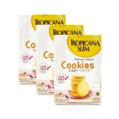 Triple Pack: Tropicana Slim Hokkaido Cheese Cookies (5 Sch)