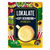 Lokalate Kopi Berondong (10 Sch) - Popcorn Latte
