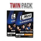Twin Pack: L-Men Gain Mass Banana 225gr