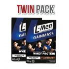 Twin Pack: L-Men Gain Mass Chocolate 225gr