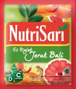 NutriSari Es Rujak jeruk Bali (1 Karton / 16 Renceng @10 Sachet)