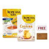Nutrimart xDekornata: Tropicana Slim Sweetener Diabtx 100S & Hokkaido Cheese Cookies 5S FREE Celine Coffee Tray