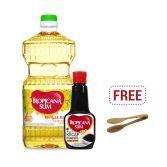 Nutrimart xDekornata: Tropicana Slim Minyak Kanola 946ml & Kecap Manis 200ml FREE Mona Wooden Tongs