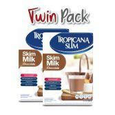 Twin Pack: Tropicana Slim Skim Milk Chocolate 500gr