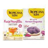 Tea Time Package - Tropicana Slim Sweetener Rose Vanilla & Tropicana Slim Korean Goguma Cookies