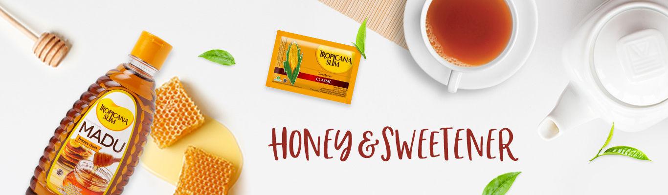 Category Honey and Sweetener