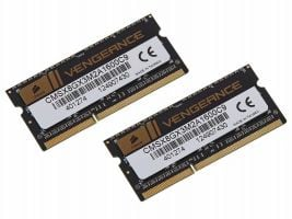 Corsair Vengeance 2x4GB DDR3 SO-DIMM PC3-12800 KIT (CMSX8GX3M2A1600C9)