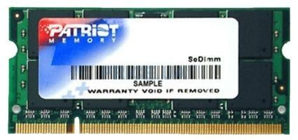 Patriot 2GB DDR2 SO-DIMM PC2-6400 (PSD22G8002S)