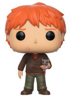 Фигурка Funko POP! Vinyl: Harry Potter: Ron Weasley w/Scabbers (14938)