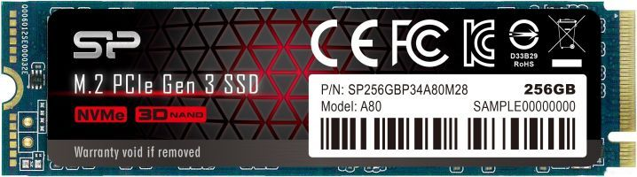 SSD Silicon Power P34A80 512GB SP512GBP34A80M28