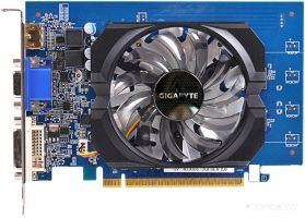 Видеокарта Gigabyte GeForce GT 730 2GB GDDR5 (GV-N730D5-2GI (rev. 2.0))